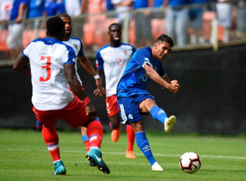 2-6-2019 - Amistoso El Salvador 1 Haiti 0. EL-SALVADOR-HAITI-EDH-DEPORTES-01
