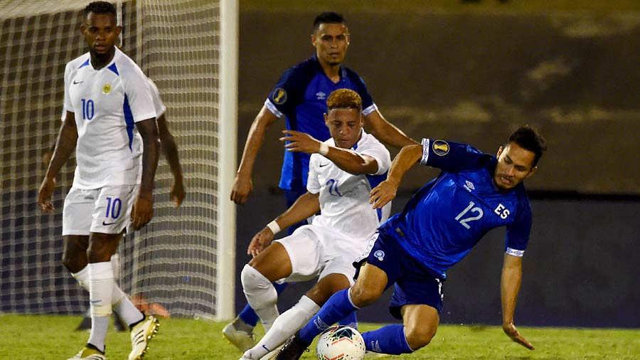 Copa Oro 2019: El Salvador 1 Curazao 0. ES-Curazao