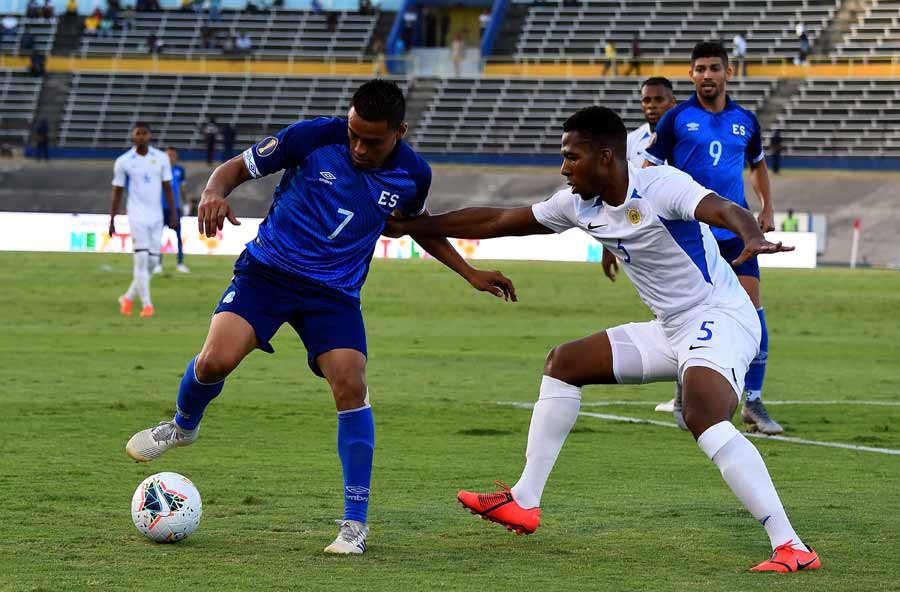 Copa Oro 2019: El Salvador 1 Curazao 0. El-Salvador-Curacao_02