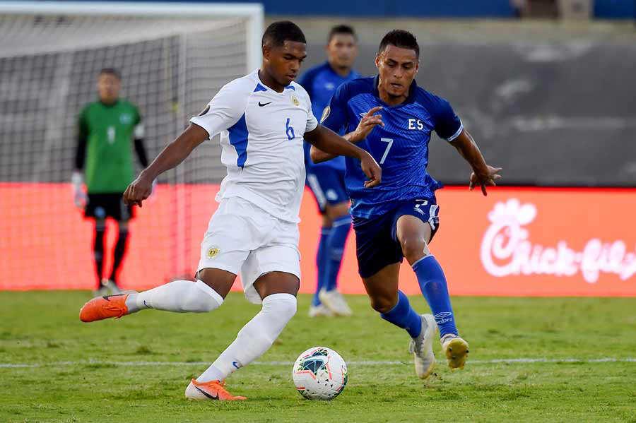 Copa Oro 2019: El Salvador 1 Curazao 0. El-Salvador-Curacao_03