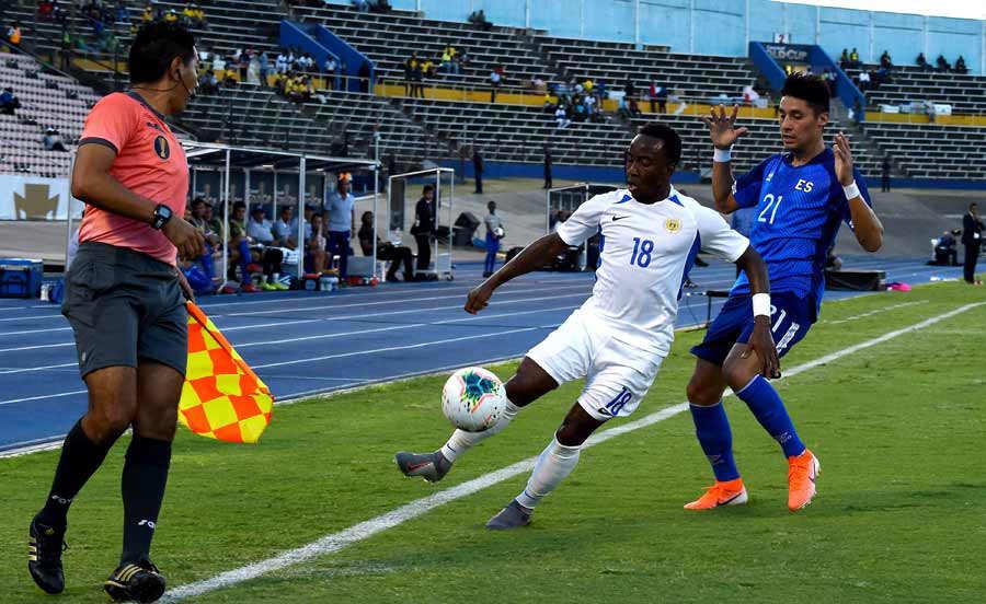 Copa Oro 2019: El Salvador 1 Curazao 0. El-Salvador-Curacao_04