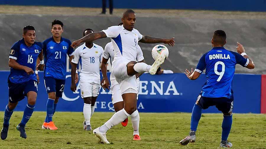 Copa Oro 2019: El Salvador 1 Curazao 0. El-Salvador-Curacao_05