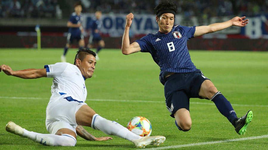 9-6-2019 - Amistoso El Salvador 0 Japon 2. El-Salvador-Japon