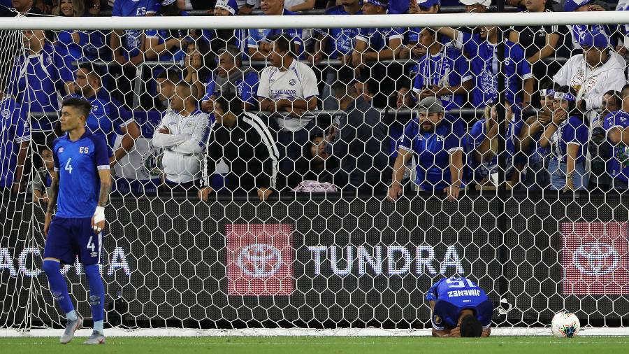 Copa Oro 2019: El Salvador 0 Honduras 4. Honduras-v-El-Salvador