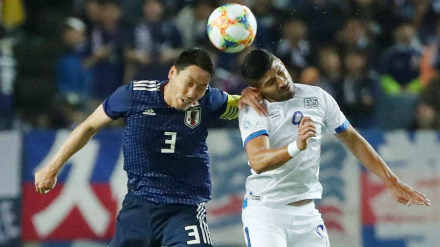 9-6-2019 - Amistoso El Salvador 0 Japon 2. Japon-vs-El-Salvador