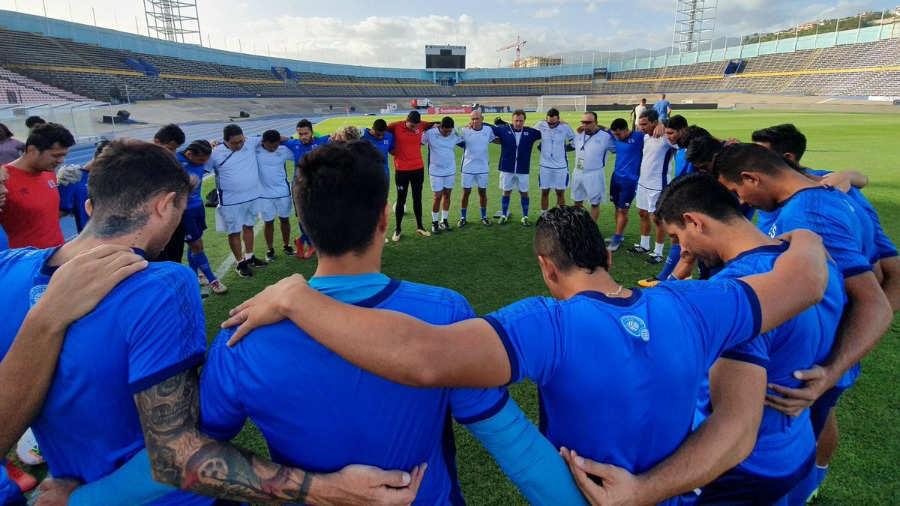 Copa Oro 2019: El Salvador vs Curazao. Preparacion del juego. SELECTA-EDH-DEPORTES-1