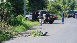 Calcinado y mutilado encuentran cadáver de mujer en Sacacoyo