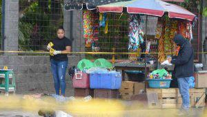 Joven vendedor de frescos fue asesinado por varios hombres en las afueras del Parque Infantil