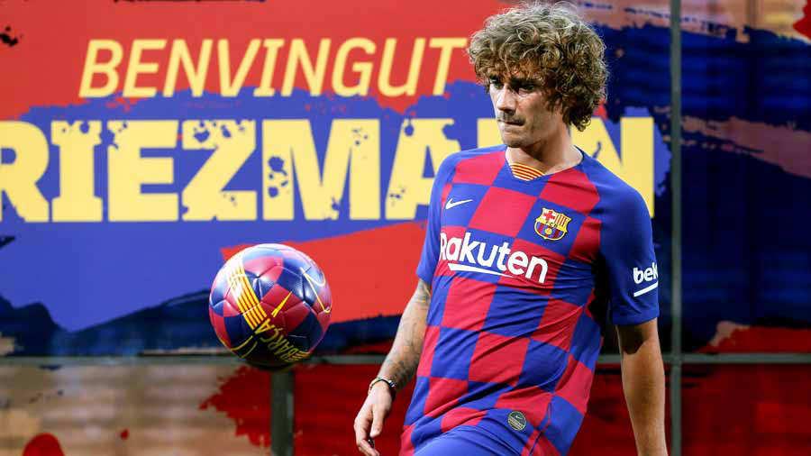 Antoine Griezmann nuevo jugador del Barcelona