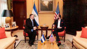 La visita de Mike Pompeo, secretario de Estado de EE. UU., a El Salvador en imágenes
