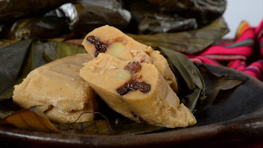 Tamales, azucar, gallina, Revista Buen Provecho