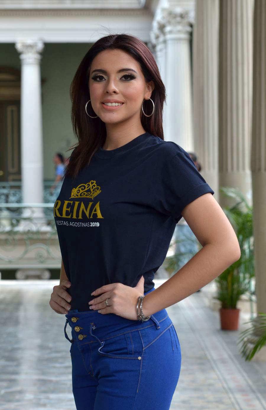 Aspirantes a reina de los festejos de San Salvador