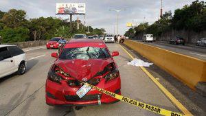 """""""El accidente fue producto de la distracción del conductor, quien no vio que el anciano cruzaba la calle"""""""