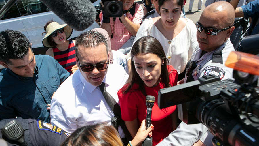 Rep. Joaquin Castro And The Hispanic Caucus Visit Detention Facility In Texas To Investigate Conditions