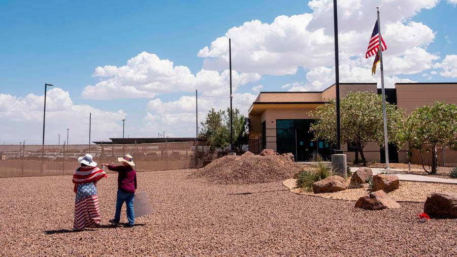 Congressional Hispanic Caucus Visits Migrant Detention Centers
