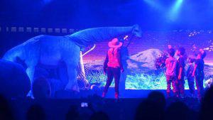 Dinosaurios y el impresionante mundo jurásico en las instalaciones de Cifco