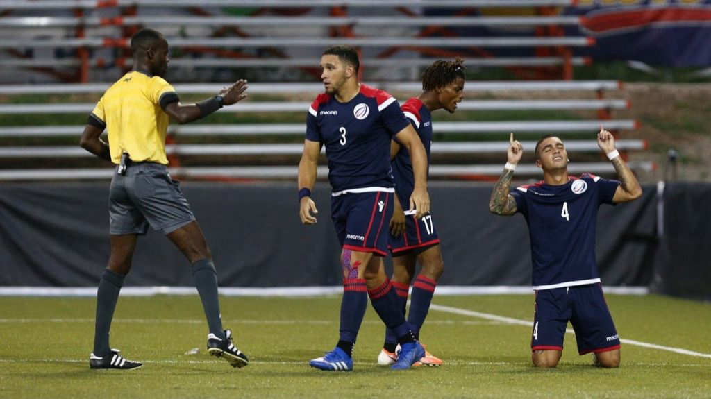 Liga de Naciones CONCACAF 2019: El Salvador 0 La Republica Dominicana 1. DOMICANA-1-1-1024x575
