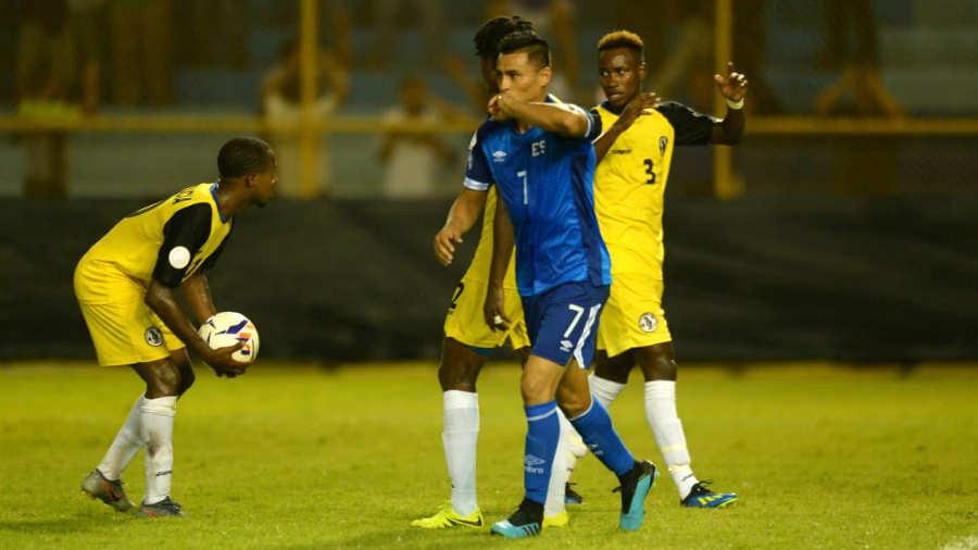 Liga de Naciones CONCACAF 2019: El Salvador 3 Santa Lucia 0. El-Salvador-Darwin-Cer%C3%A9n