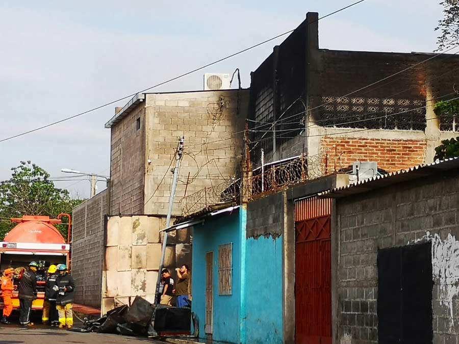 Incendio San Miguel