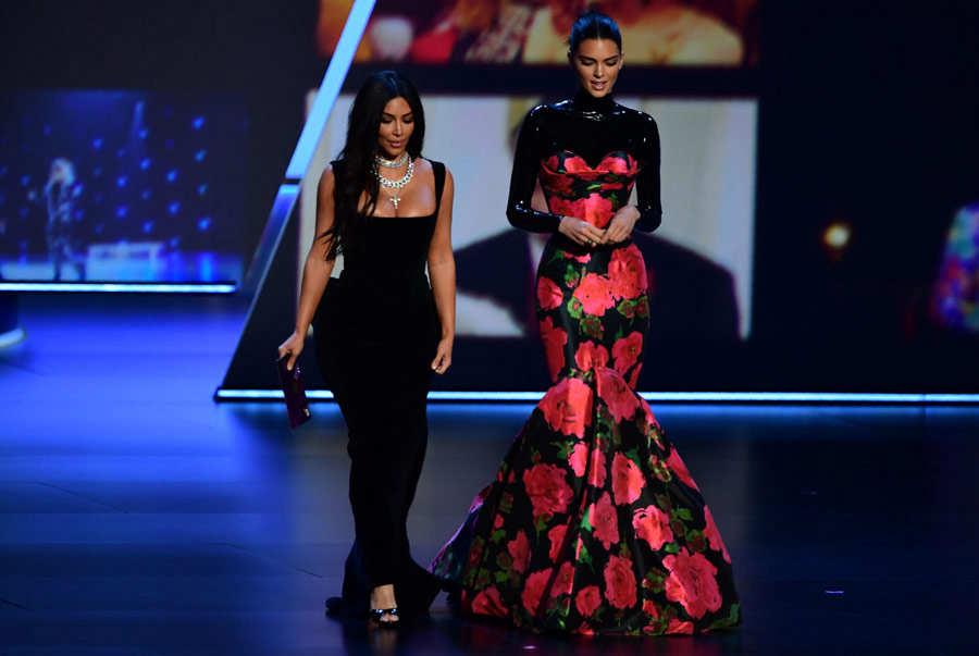 Kim Kardashian y Kendal Jenner