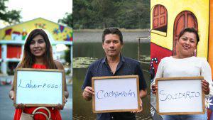 ¿Con qué palabra describirías a los salvadoreños?
