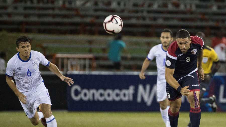 Liga de Naciones CONCACAF 2019: El Salvador 0 La Republica Dominicana 1. Dominicana-el-salvador