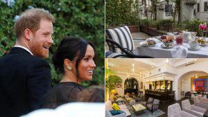 El exclusivo hotel en Roma donde se hospedó Meghan Markle y el príncipe Harry
