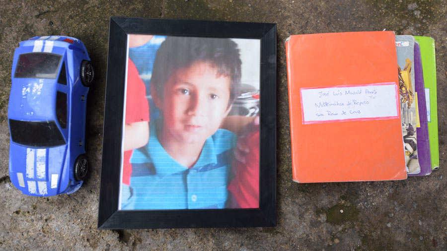 José Luis Madrid Pérez estudiaba 5o. Grado en una escuela pública. Fotos EDH / menly cortez