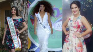 Miss Alejandra, la candidata del Jalacatal que busca la tercera corona para el cantón en el carnaval de San Miguel