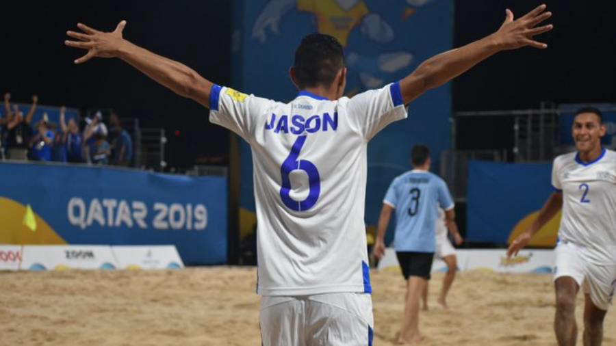 Juegos Mundiales Catar 2019.  El Salvador - Juegos y resultados. Jason-Urbina
