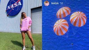 La reguetonera Karol G hace realidad su sueño de ir a la NASA
