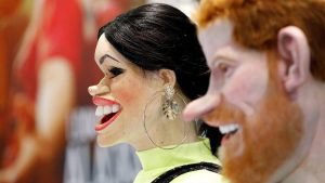 Meghan Markle y el príncipe Harry son las nuevas víctimas de la sátira británica