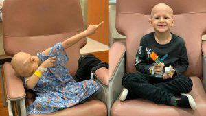 Tras más de tres años, Pipe finaliza su tratamiento contra el cáncer