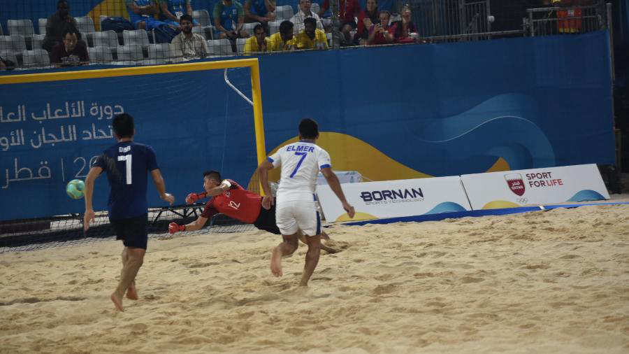Juegos Mundiales Catar 2019.  El Salvador - Juegos y resultados. Playera1