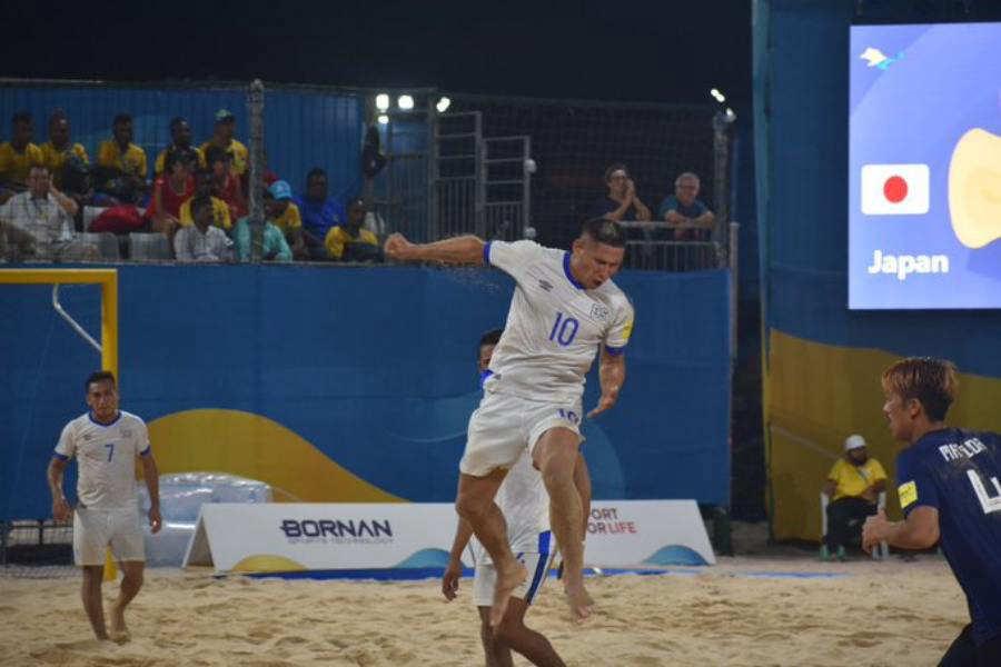 Juegos Mundiales Catar 2019.  El Salvador - Juegos y resultados. TIn-Ruiz