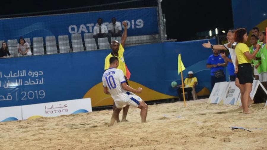 Juegos Mundiales Catar 2019.  El Salvador - Juegos y resultados. Tin-Ruiz1