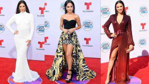 Las mejor vestidas de los Latin American Music Awards 2019