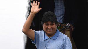 Detalles de la llegada de Evo Morales a México
