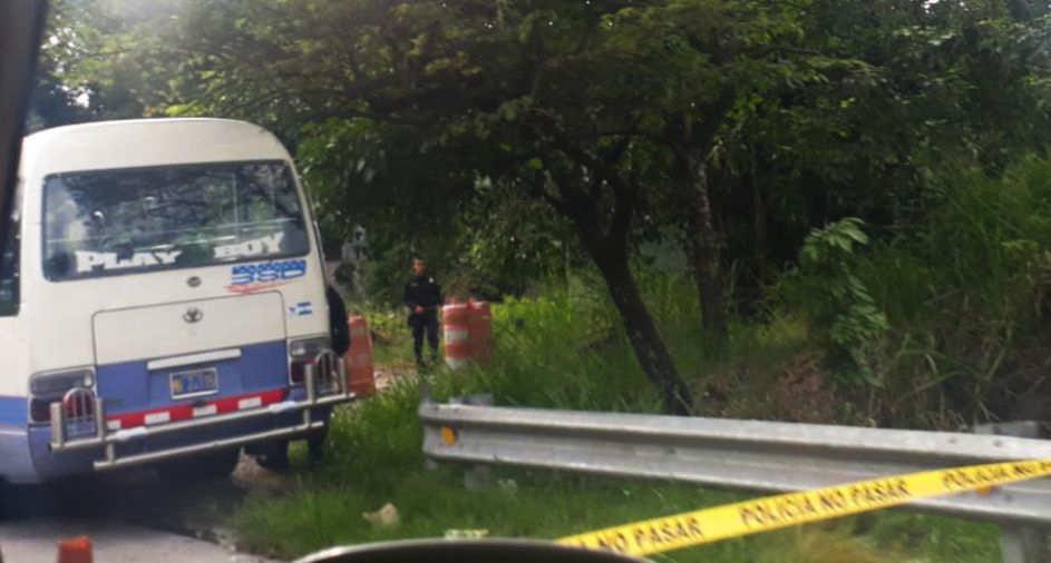 Asaltantes matan a pasajero de microbús en Ciudad Delgado - elsalvador.com