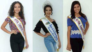 Ellas son las diez candidatas a reina de las fiestas de Concepción Batres