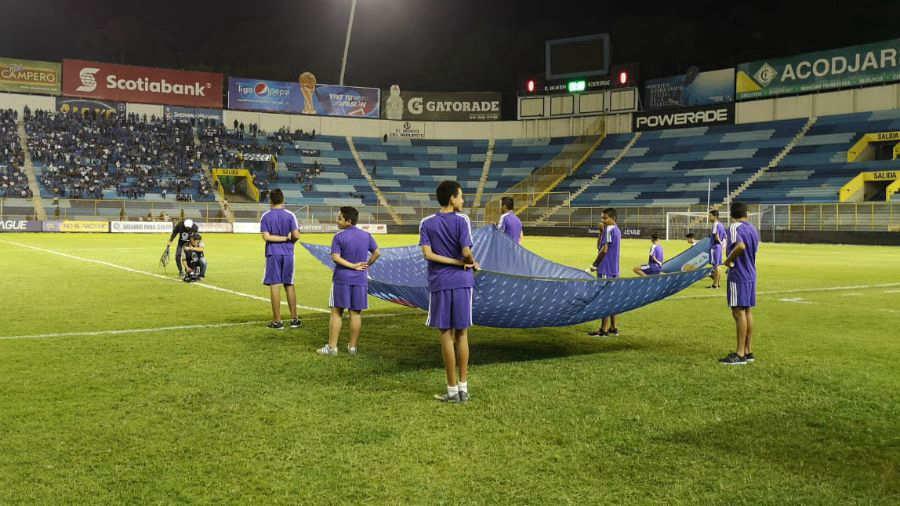 Liga de Naciones CONCACAF 2019: El Salvador 1 Montserrat 0. Estadio-Cuscatlan