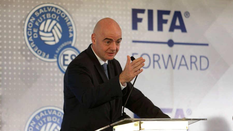 XVIII Congreso Ordinario de UNCAF y visita del presidente de FIFA Gianni Infantino a El Salvador. Gianni-Infantino-01