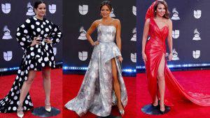 Rosalía y Thalía con los mejores looks en los Latin Grammy