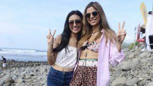 Rizos, bikinis y tatuajes, la moda del Surf City Latin Pro 2019 en El Tunco
