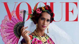 Mujer trans de Oaxaca protagoniza portada de la revista Vogue México