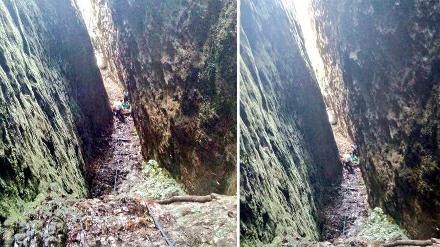 Bomberos rescata a mujer que cayó a precipicio en El Pital, Chalatenango - elsalvador.com