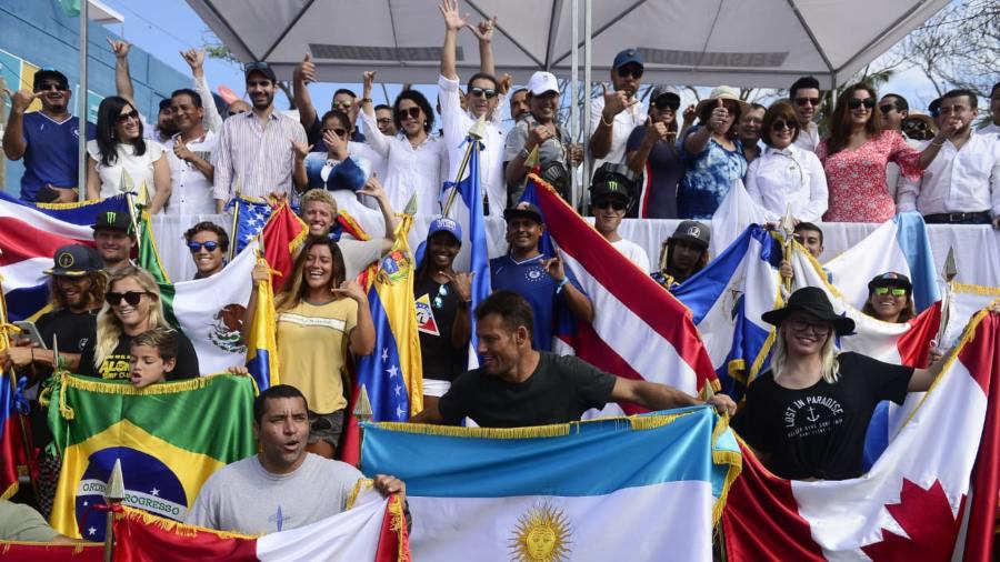 Resultado de imagen para la apertura del Surf Alas Latin Pro 2019