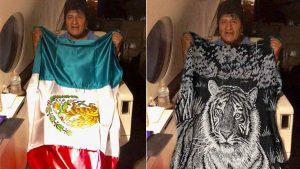 Los mexicanos recibieron a Evo Morales y su bandera con los mejores memes