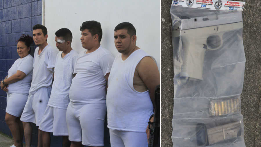 Policía rescata a dos jóvenes raptados por pandilleros en Ayutuxtepeque - elsalvador.com