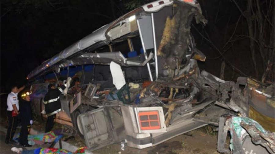 Accidente automovilístico deja 21 fallecidos en Guatemala